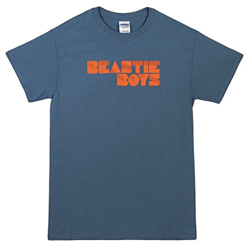 Beastie Boys 'Fader Logo' slate blue t-shirt (Medium) [Apparel](Medium)