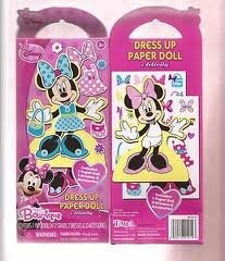 Amazon Com Disney Minnie Mouse Bow Tique Dress Up Paper