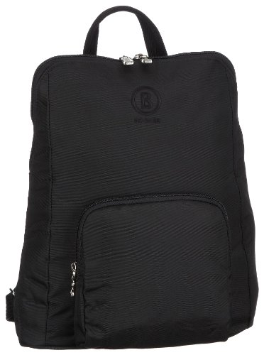 Bogner Spirit Happy Biking 0043172090, Unisex - Shoulder Bag, Black, (Black/Teak 090), 27x8x34