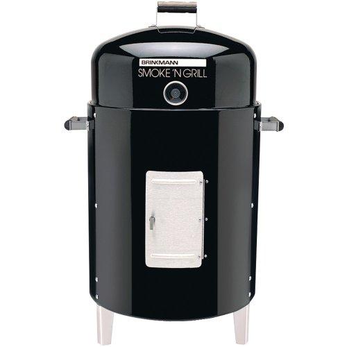 1 - Smoke n Grill Charcoal Smoker, 50lb capacity,