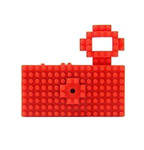 トイデジ nanoblock toy digital camera ナノブロック トイデジタルカメラ レッド [HD1112]