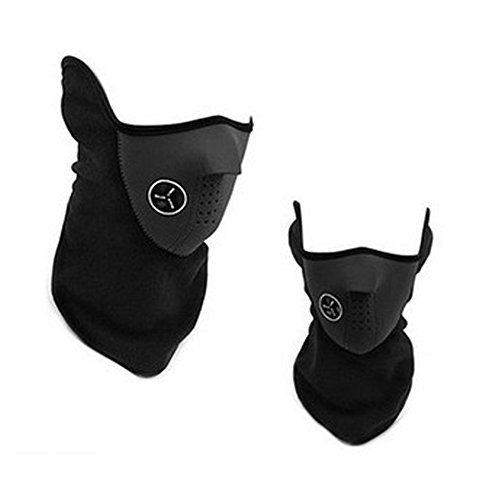 KingBig-Windproof-Half-Face-Mask-Unisex-Winter-Warm-Dustproof-Windproof-Fleece-Neck-Warm-Ski-Face-Mask-with-Air-Holes-for-Outdoor-Sport-Skiing-Cycling-Motorcycle-Riding-Snowmobile-Snowboard