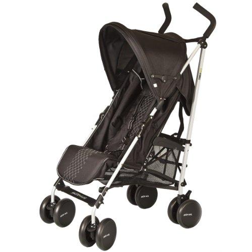 Guzzie+Guss Pender Umbrella Stroller, Black front-18145