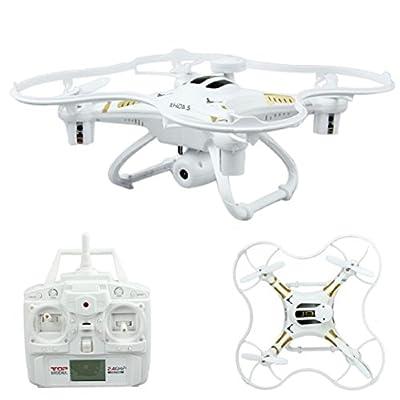 Binmer(TM)Hot X106V-1 4-AXIS Aerocraft 2.4GHz Radio Aerial Photography UAV FPV Drone With Camera