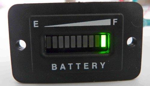 Pro36Frc 36 Volt Battery Gauge, Status Indicator W/Relay Output - Golf Cart