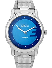 "Dice ""Smooth-4141"" Formal Round Shaped Wrist Watch For Men. Fitted With Beautiful Multi Color Dial And Stainless..."