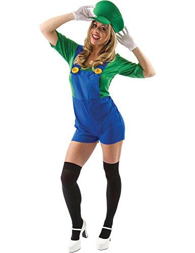Costume Amica del Super Idraulico Donna Extra Large