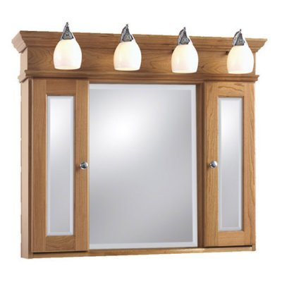Bathroom Medicine Cabinet on Cabinet With Lights     77 726 Satinnickel From Medicine Cabinet Shop