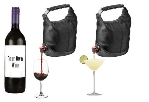 Box Wine Purse Handbag
