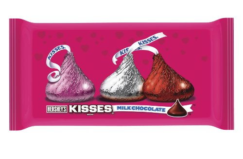 Hershey's Kisses Valentine's Milk Chocolate, 11-Ounce Bag (Chocolate Valentine Day compare prices)