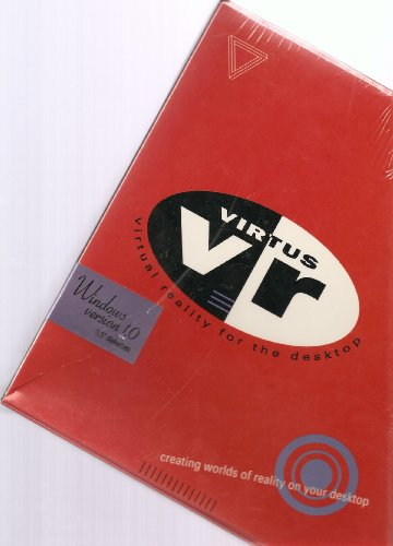 "Virtus Vr, Virtual Reality For The Desktop (Windows Version 1.0. 3.5"" Diskettes)"
