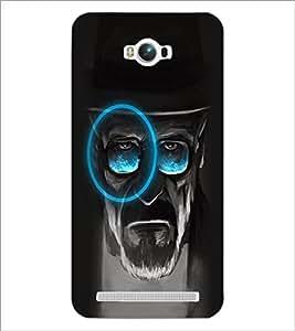 PrintDhaba Mature Man D-2973 Back Case Cover for ASUS ZENFONE MAX ZC550KL (Multi-Coloured)