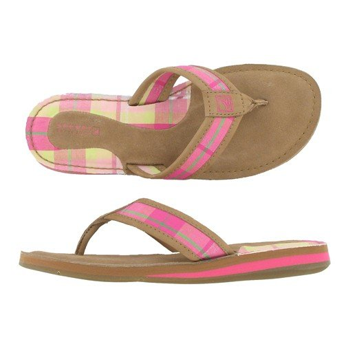 Sperry CATALINA 9771742 Linen/Hot Pink 9 Medium