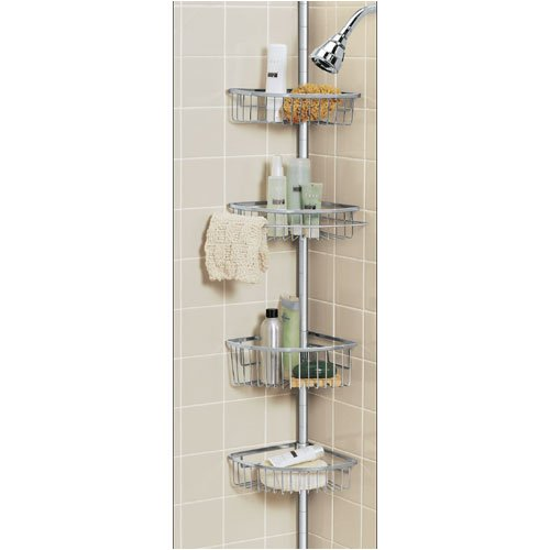 Tension Pole Shower Caddy - Stainless Steel by Better Bath