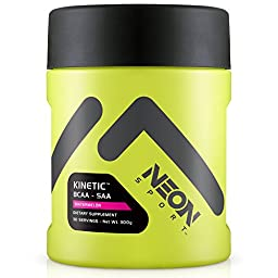Neon Sport Kinetic BCAA and SAA Amino Acid Supplement, Watermelon, 30 Servings