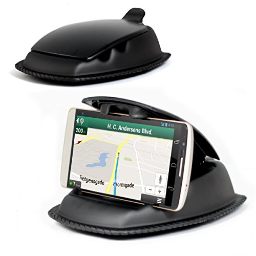 navitech-black-universal-ultra-hold-dashboard-mount-for-the-haier-voyage-v5