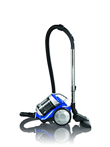 Cleanmaxx-09897-Zyklon-Staubsauger-700-W-Beutellos-Haushaltsreinigung-Power-3000-Bodenreinigung-Fr-Alle-Bden-blau-silber
