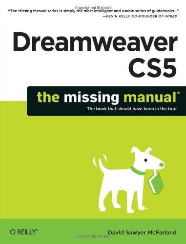 Dreamweaver CS5 The Missing Manual