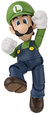 "Bandai Tamashii Nations S.H. Figuarts Luigi ""Super Mario"" Action Figure from Bandai Tamashii Nations"
