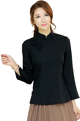 shanghai-story-chinese-oriental-long-sleeve-tang-qipao-top-blouse-4-black
