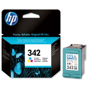 Hewlett Packard [HP] No. 342 Inkjet Cartridge Page Life 175pp Colour Ref C9361EE#abb