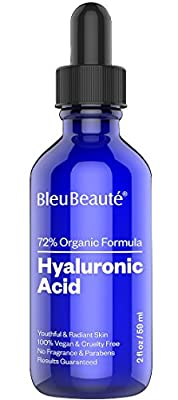 BIG - 2 oz Hyaluronic Acid - High potency hydrating facial serum - IT WORKS OR YOUR MONEY-BACK!