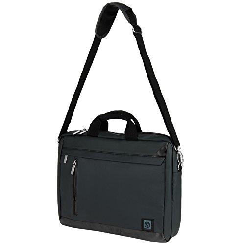 Click to buy 15.6inch Vangoddy Adler Laptop Shoulder Bag for Asus Transformer Book Flip TP550 / X553 X553SA / X555 X555LA - HI31103J / ZenBook U56E Bamboo Collection U53SD UL50At (Metallic Grey with Black Trim) - From only $34.95