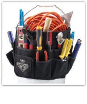5 Gallon Bucket Tool Organizer - 35 pockets