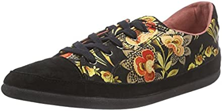 Desigual Happy 2, Sneakers Basses femme, Multicolore (2000 Negro), 40 EU