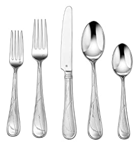 Cuisinart 20 piece flatware set evires Unique flatware sets