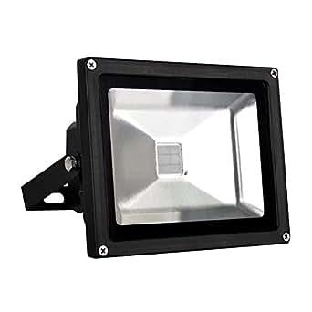 TWLC IP65 Waterproof 20W Blanc Froid Classique Projecteur LED