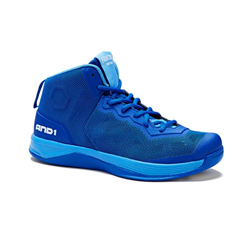 AND1 Mens Fantom Basketball Shoe 10 Royal