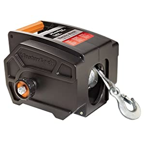 master lock 2953at 12 volt dc portable winch automotive