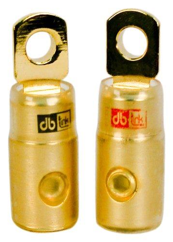 DB Link RTG0 0-Gauge Gold Ring Terminal