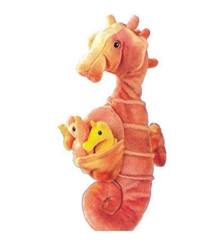 """Wild Republic Seahorse Dad with babies - 13"""""""