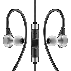 RHA MA750i Noise Isolating In-Ear Headphone with remote and microphone - 3 year warranty