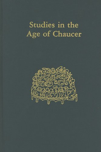 Studies in the Age of Chaucer, Volume 18 (New Chaucer Society)