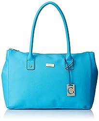 Cathy London Women's Handbag (Turquoise, Cathy-197)
