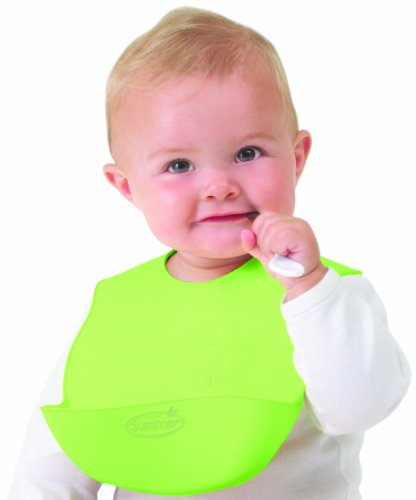 Summer Infant Bibbity, Green (Discontinued by Manufacturer)