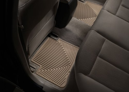 WeatherTech - W50TN - 2006-2010 Chevy Impala Tan All Weather Floor Mats 2nd Row (Weathertech Floor Mats Volvo S40 compare prices)