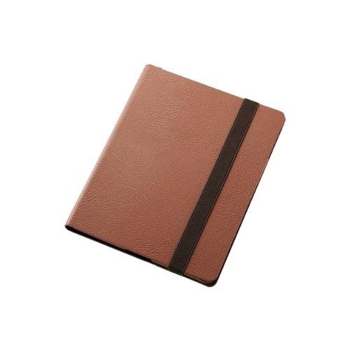 ELECOM iPad 2012 360度スイベルケース ブラウン TB-A12360BR