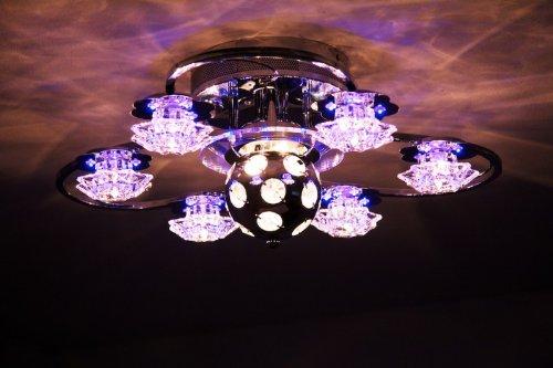 deckenleuchte mit discokugel deckenlampe mit. Black Bedroom Furniture Sets. Home Design Ideas