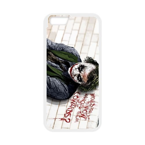 Personalized Durable Cases iPhone 6 4.7 Inch White Phone Case Ktzwl Joker Heath Ledger Protection Cover