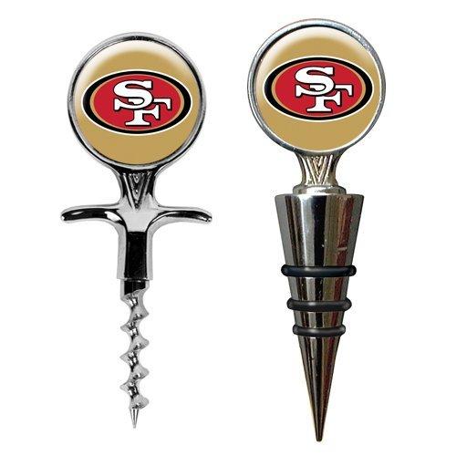 San Francisco 49ers 16oz. Stemless Wine Glass