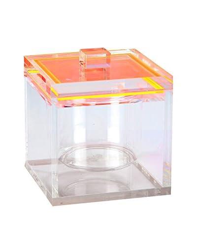 Tinsley Mortimer Madison 34-Oz. Ice Bucket, Orange