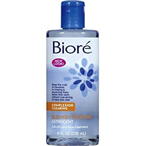 Biore Blemish Treating Astringent 240 ml (Pack of 3)