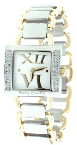 Betty Barclay BY058.60.112.060 Ladies Stone Encrusted Gold Plated Bracelet Watch