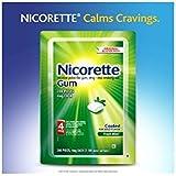 Nicorette Fresh Mint Gum, 200 Count