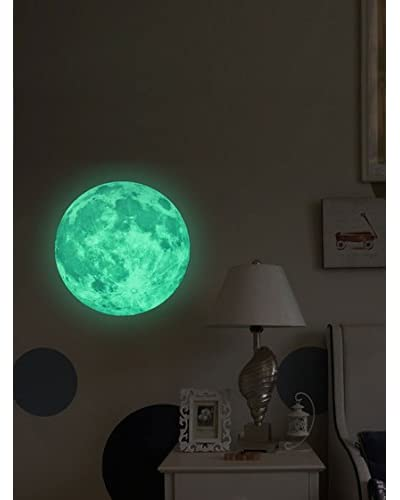 Ambience Live Vinilo Decorativo Glow in the dark Real Moon