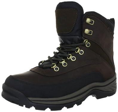 Timberland天木兰男士全粒面真皮防水保暖中靴Whiteledge Boot黑色 $73.72